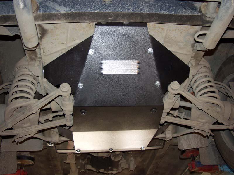 Защита картера двигателя на Нива/Нива Шевроле/ВАЗ 2121